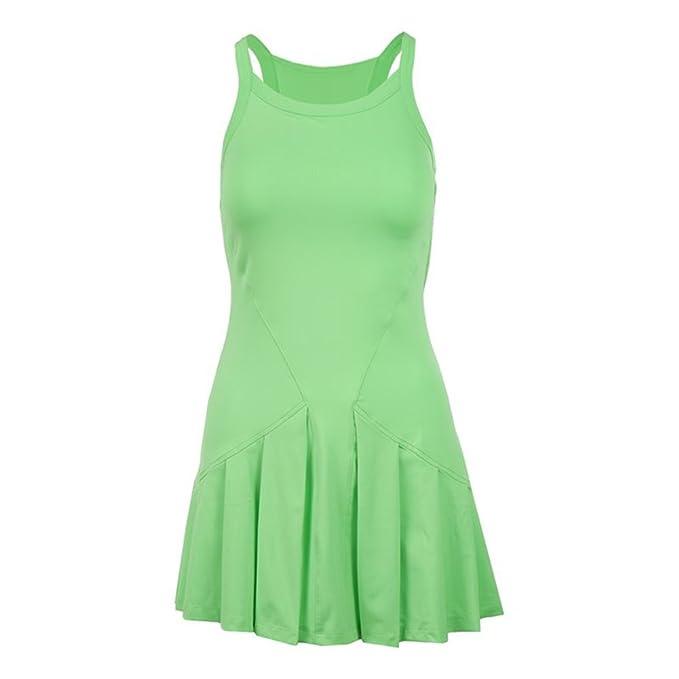 fb2ceba36f52 Fila Women's Spotlight Set Dress - Green -: Amazon.co.uk: Clothing