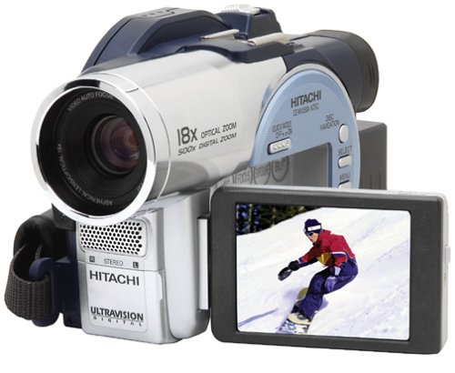 amazon com hitachi dzmv550a dvd camcorder w 18x optical zoom rh amazon com