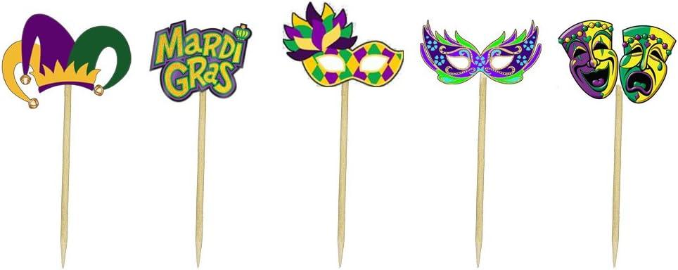 Guido 12 x Voitures Gâteau Picks//Cupcake Toppers Enfants Décorations de fête Mater