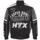 nfl superbowl champion jacket - New England Patriot Limited Addtion Super Bowl Champions LI 51 Cotton Twill Jacket - Black (X-LARGE)