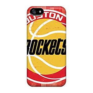 Iphone 5/5s Skp15975fMZI Unique Design HD Houston Rockets Pictures Protective Hard Phone Cases -RichardBingley