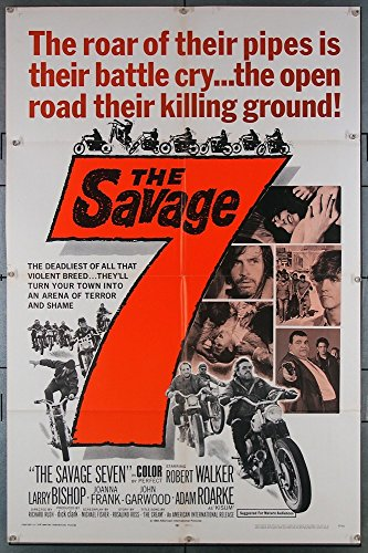 the-savage-seven-1968-original-one-sheet-poster-27x41-folded-very-fine