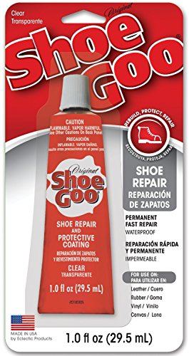 Shoe GOO 110232 10 Pack 1-Ounce Shoe Goo Repair & Coating, Clear by Shoegoo