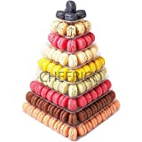9 Tier Square Macaron Display Tower/ Macaroon Tower