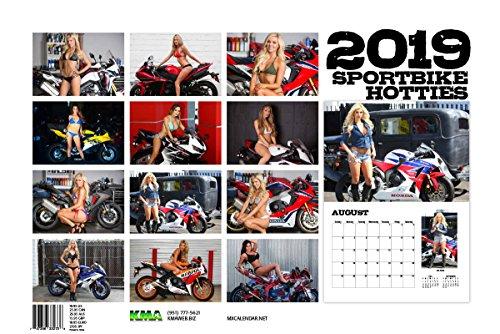 Moto365 2019 Sportbike Hotties Calendar