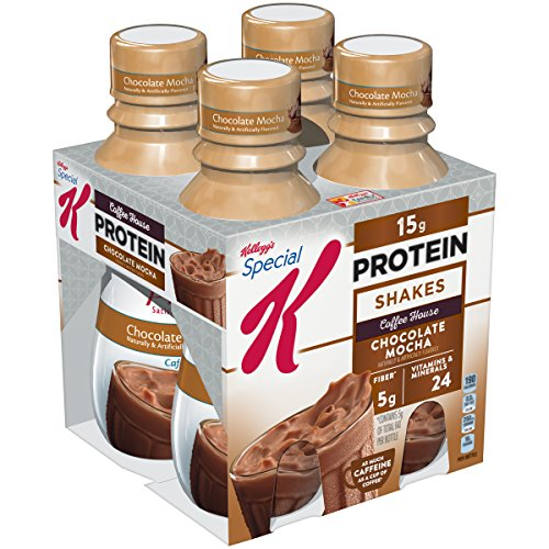 Kellogg's Special K Protein Shakes - Chocolate Mocha - 10 oz - 4 ct