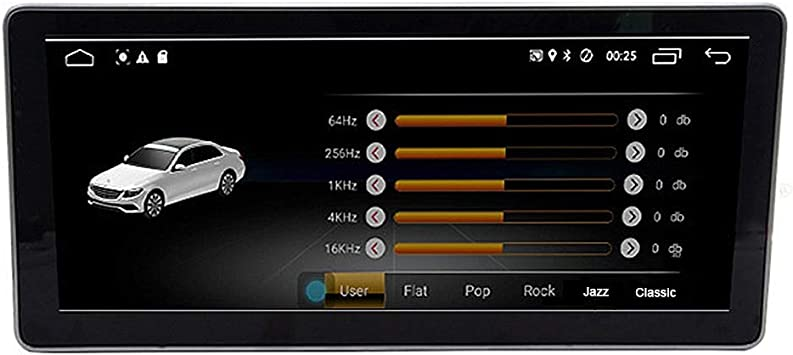 Car Multimedia 10.25 Pulgadas De Pantalla Grande Navegación GPS Del Coche Con La Resolución De HD Con Tacto/Control De Voz Adecuados Para Mercedes-Benz Benz Clase E W212 S212 2009~2015: Amazon.es: Coche y