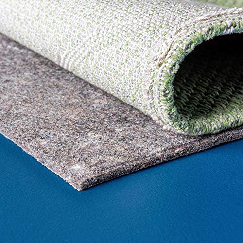 Unique Loom Rug Pads Collection Non-Slip and Felt Uni-Luxe Rug Pad Precut for Area Rugs on Hard Surfaces and Floors…