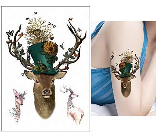Zhuhuimin Chica del Cuerpo del Tatuaje 5pcs Mangas del Tatuaje ...