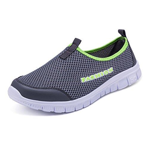 Scarpe 40 Interior Sneakers Unisex Sportive Running Casual Darkgray Fitness All'aperto AKXY KJJDE 001 pU57qwU