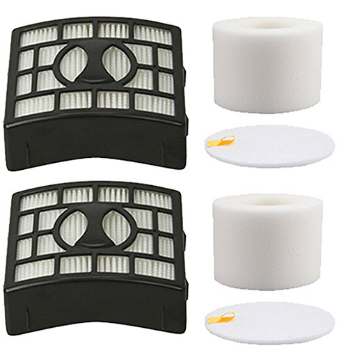 Amyehouse 2Pack Foam & Felt Filter Replacement Kit for Shark Rotator Powered Lift-Away Speed Vacuum NV683 NV682 NV681 NV680 NV800 NV801 NV803 UV810,Compares to # XFF680 & XHF680