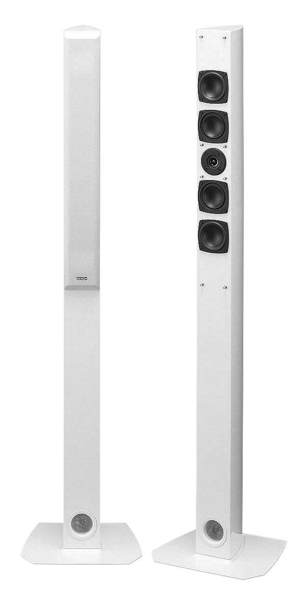 DENON スピーカー トールボーイ スリムデザイン 2台1組 ホワイト SC-T7L2-W B000UZRMT2 ホワイト