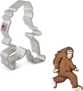 """product image for Ann Clark Cookie Cutters Sasquatch Big Foot Bigfoot Cookie Cutter, 4.5"""""""