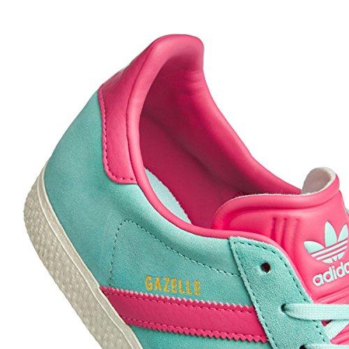 new styles 1955e b39f0 adidas Gazelle J, Chaussures de Fitness Mixte Enfant, Turquoise