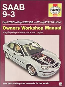 Saab 9 3 service and repair manual haynes publishing 9781785210075 saab 9 3 service and repair manual fandeluxe Image collections