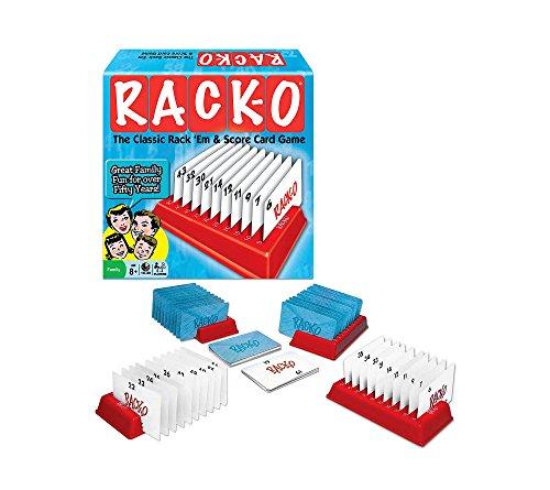 Rack-O Classic Rack 'Em & Score Card Game