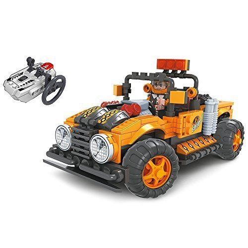 Brictek R C OffRoad Truck, orange by BRICTEK