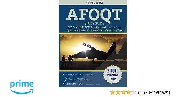 Amazon com: AFOQT Study Guide 2017-2018: AFOQT Test Prep and