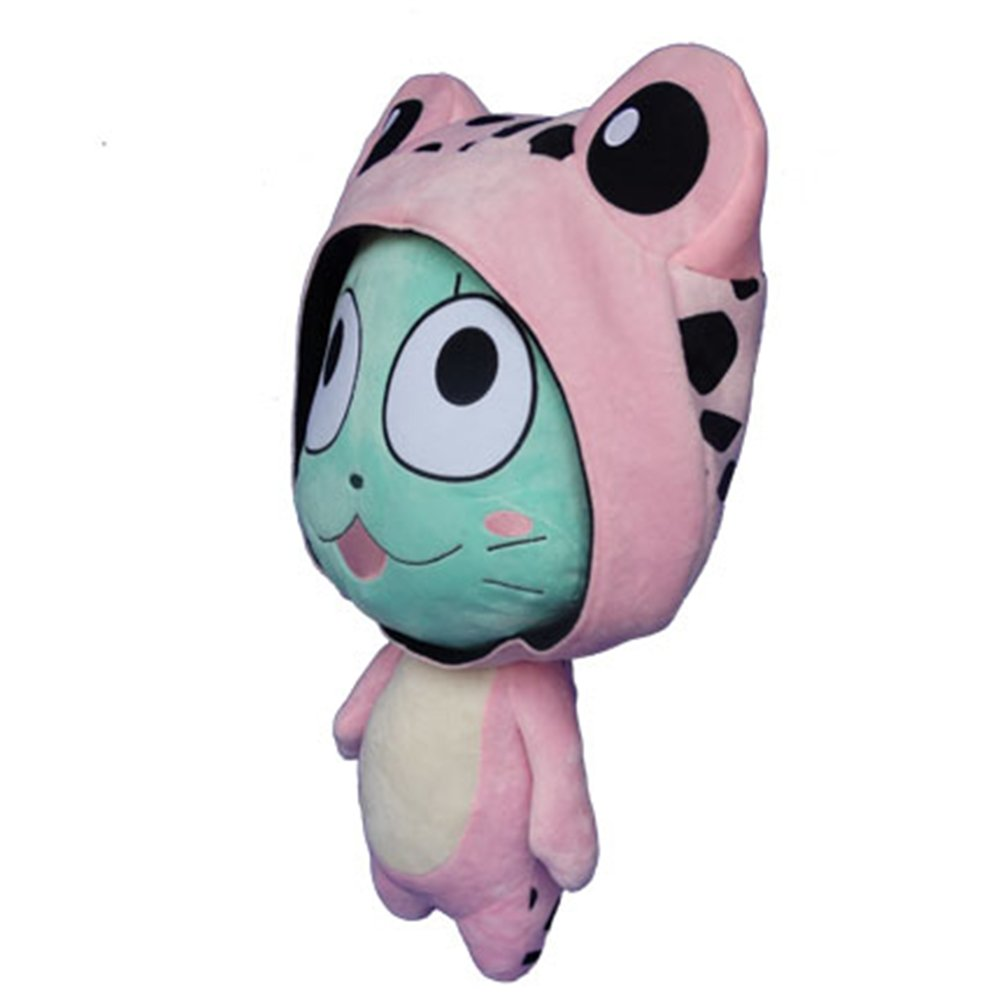 Rain's Pan Anime Fairy Tail Frosch Cosplay Plush Pillow Cushion Toy Dolls Pink 23'' by Rain's Pan Plush Toy Pillows (Image #2)