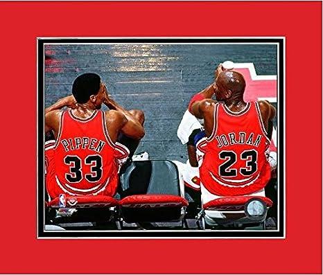 6f988bcecc489 Amazon.com: Michael Jordan & Scottie Pippen Chicago Bulls NBA Action ...