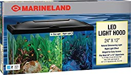 Marineland LED Light Hood, 24-Inch by 12-Inch