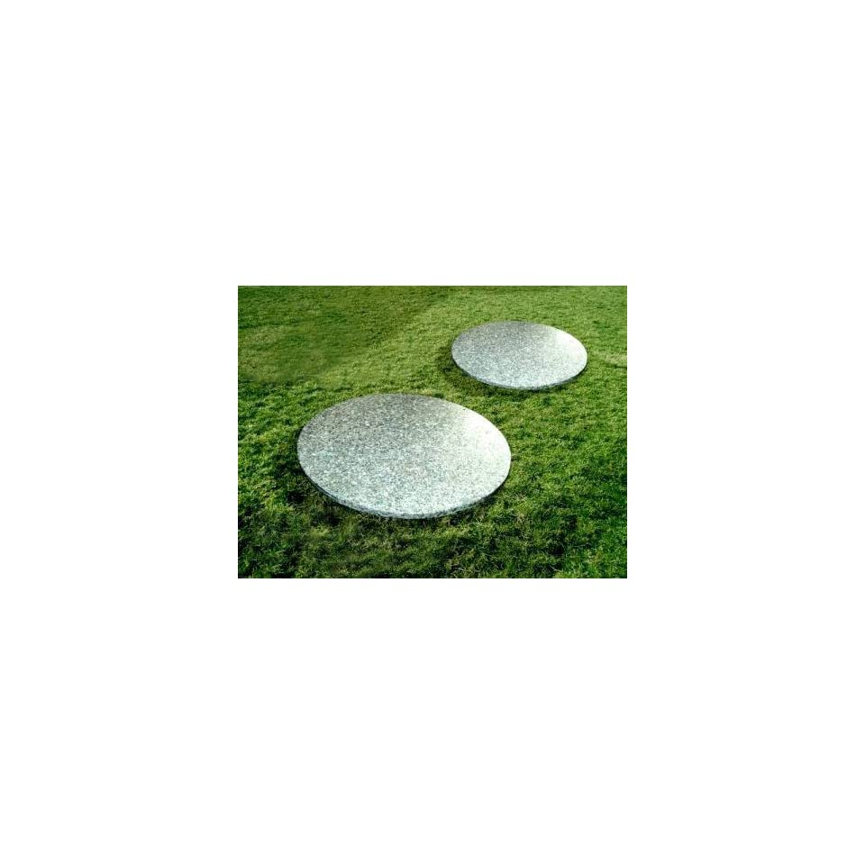 National Tree Company FQS 800 18 18 Inch Granite Round Stepping Stones