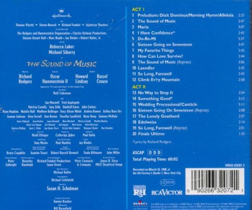 The Sound of Music (1998 New Broadway Cast Recording)