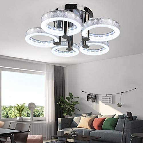 MoreChange Modern Led Acrylic Ceiling Light