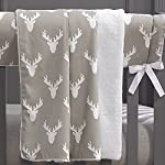 Buck-Woodland-Taupe-Bumperless-Crib-Bedding-4-pc-Set