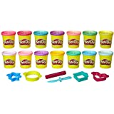 Play-Doh Sparkle & Bright Color Pack, Modeling Compound, 14 Cans, Non-Toxic, Assorted Colors, 3-Ounce Cans, Ages 2 and up (Amazon Exclusive)