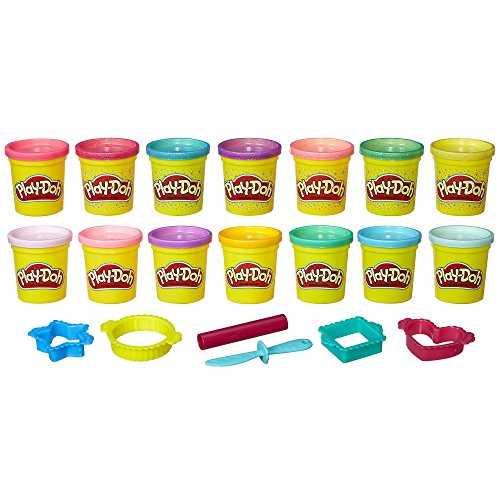 Play-Doh Sparkle Bright Color Pack Amazon Exclusive