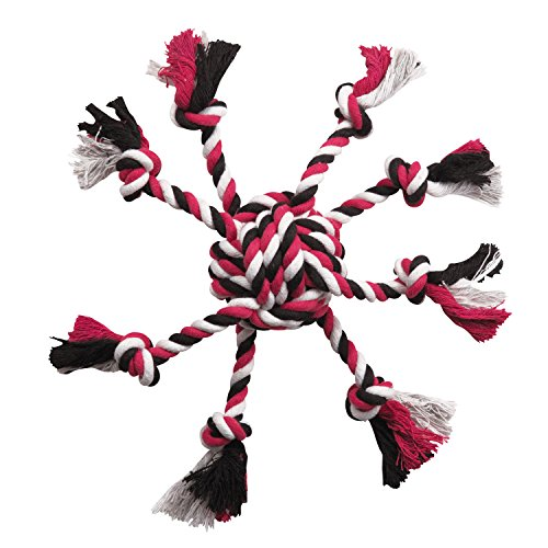 Zanies Crazy Eight Rope Dog Toys, Pink