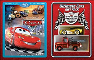 Cars Gift Set Combo Pack With Dvd Blu-ray from Disney*Pixar