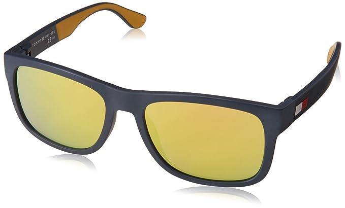 Tommy Hilfiger TH 1556/S Gafas de sol, Amarillo (BLU YELL), 56 para Hombre