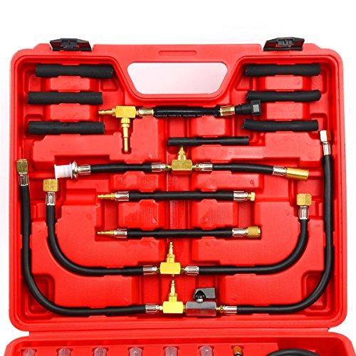 8MILELAKE Pro Oil Fuel Injection Pressure Tester Kit 0-140 PSI System by 8MILELAKE (Image #6)