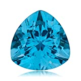 Mysticdrop 0.91-1.73 Cts of 7 mm AAA Trillion Swiss Blue Topaz (1 pc) Loose Gemstone