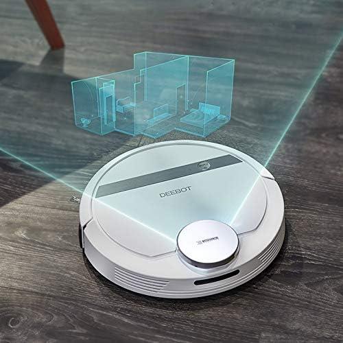 ECOVACS DEEBOT DE55 Robot Aspirateur Smart Moping APP Télécommande, 100min Temps de travail