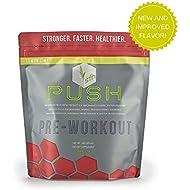 PUSH Pre-Workout Powder (Lemon Lime) by SFH® | Best...
