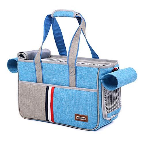 QBLEEV Pet Carrier Air Approved Soft-Sided for Puppy Cats, 9