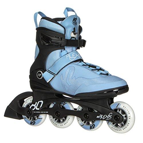 K2 Skate Women's Alexis Pro Inline Skate, Blue covid 19 (Pro Skate Boot coronavirus)
