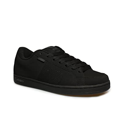 Etnies Kingpin Black Black Suede Perforated New Mens Skate Trainers Shoes Boots  B00GC1IDR8