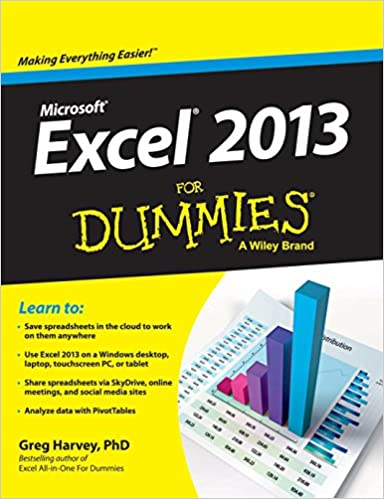 Book Microsoft Excel 2013 for Dummies