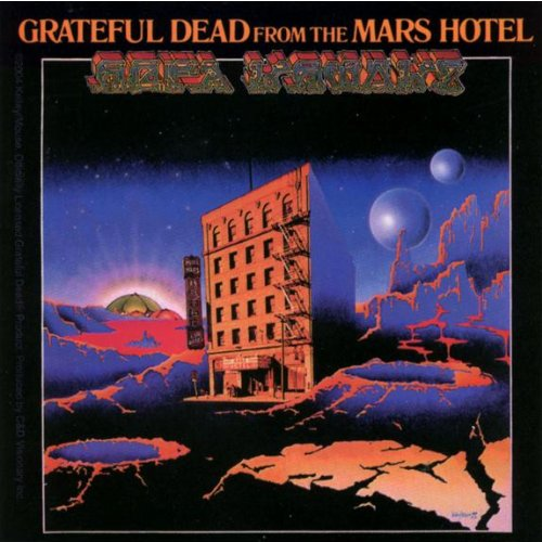 Grateful Dead - Mars Hotel Decal Old Glory