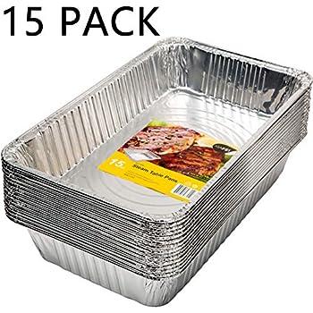Amazon Com Dobi 15 Pack Full Size Deep Chafing Pans