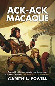 Ack-Ack Macaque by [Powell, Gareth L.]