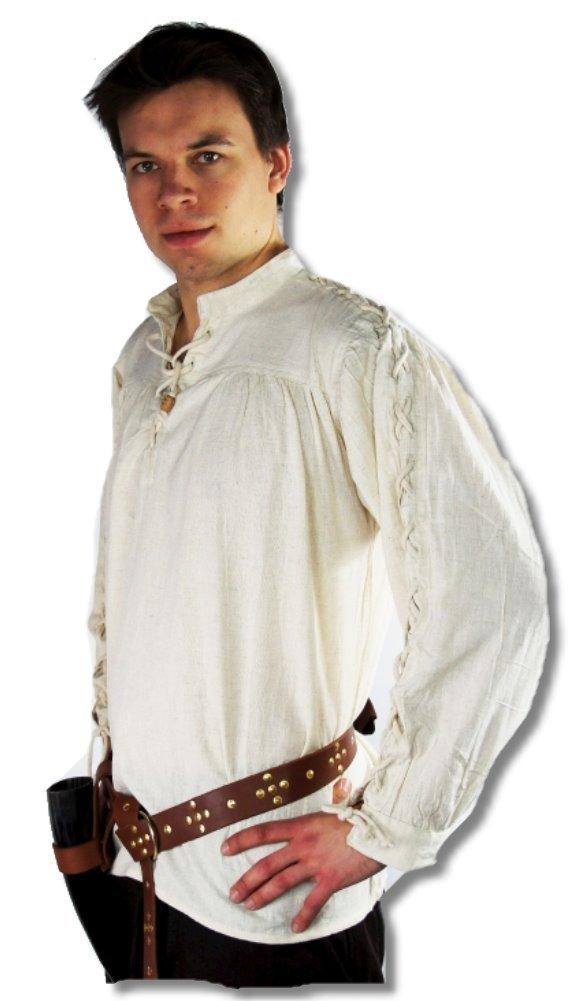 Leonardo Carbone Mittelalter Markthemd - Herren Leander XL natur B00FAPR3S2 Kostüme für Erwachsene Qualität zuerst | Moderne Technologie