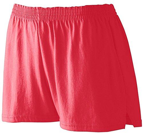 Augusta Sportswear Ladies' Trim Fit Jersery Short - Red 987A M