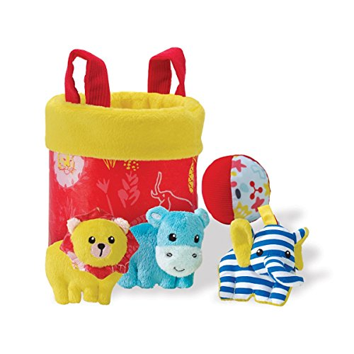 Spill Plush Toy Set (Manhattan Toy Savanna Fill & Spill Activity Set)