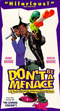 dont be a menace in south central while