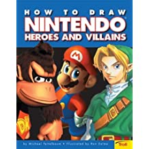 How To Draw Nintendo Heroes And Villians